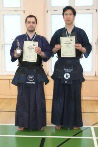 Lee und Baronin auf der 21. Leipziger Meisterschaft 2012
