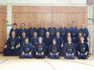 Teilnehmer des Kendo Summer Camp 2012