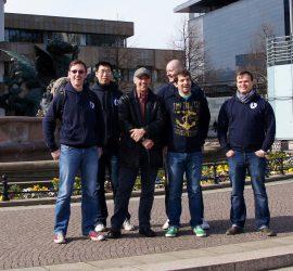 Die Kobukai Delegation in Leipzig April 2013