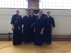 Tamura sensei und Kobukai