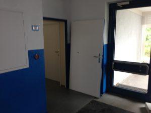 Tür in der Kieperthalle