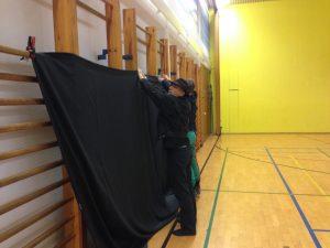 Vorbereitung zum Foto Shooting