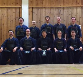 Teilnehmer des Hojo Trainings