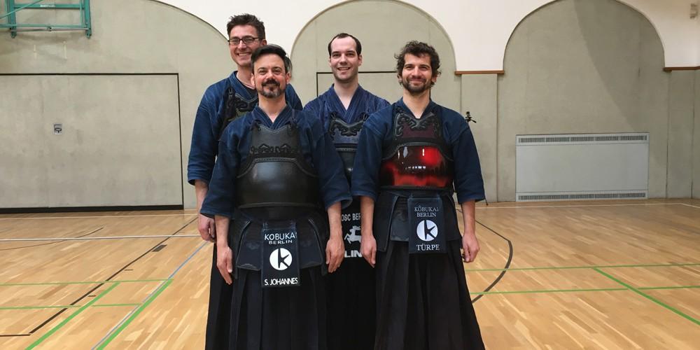 Die Teilnehmer des Shinzen-Jiai 2016
